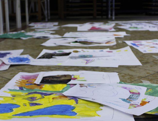 atelier arts plastiques enfants